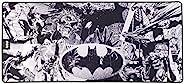 蝙蝠侠 - 防滑 XXL 90 毫米 X 40 毫米串珠饰面鼠标垫 - DC Comis 官方许可 (PS4////)