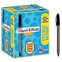 Paper Mate InkJoy 帶蓋圓珠筆 中等粗細筆尖 80 + 20 Stück 黑色