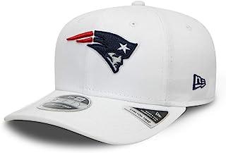 New Era 新英格兰爱国者队 9fifty 弹性后扣棒球帽,白色底座