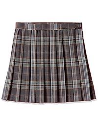 [Cupop] 可选长度的百褶格子裙(学校・制服・学生服)(消菌・防皱・可机洗) TN-438 女孩