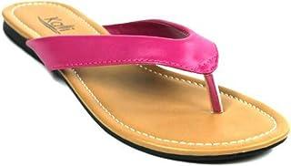 Kali Footwear Girl's Cocoa-Jr. 人字拖平底凉鞋