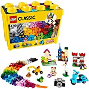 LEGO 樂高 經典系列 大創意積木盒 10698,玩具收納