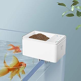 Irovami 自动鱼喂食器,智能数字鱼食品分配器定时器鱼喂食器 70 毫升电池供电自动喂食鱼缸和水族箱