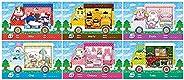 6 张 Sanrio NFC Amiibo 动物穿越卡(里拉、马蒂、游乐、柴伊、切尔西、托比)兼容开关新地平线带盒(6)