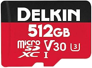 Delkin Devices 512GB Select microSDXC UHS-I (V30) 内存卡 (DDMSDR500512)