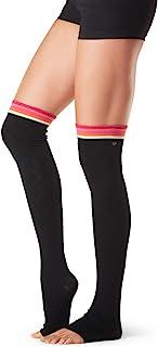 Toesox 女士 Toesox Barre Pilates 护腿 - Olivia 过膝 适用于舞蹈、瑜伽、时尚袜子