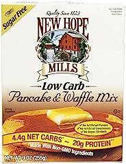 New Hope Mills 不含糖的煎饼与华夫饼用混合粉料(9 盎司,约 255 克)