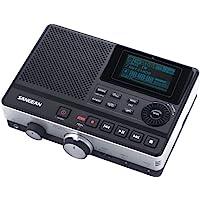 Sangean(r) Dar-101 数字录音机带电话应答功能 13.70in. x 7.70in. x 3.80in. 黑色