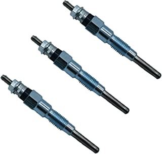 3PCS 电热塞 19077-65510 用于Kubota L45 L4740 L48 L5240 L5740 KX121-3ST KX161-3ST KX91-3S2