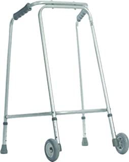 Aidapt 带轮子的步行框,小号