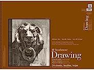 "Strathmore 400-108 400 系列绘画,光滑表面,45.72cm x 60.96cm 线装订,24 张 18""x2"