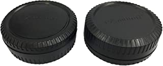 HomyWord 2 件装车身盖和相机后镜头盖套装兼容 X 安装相机适合 X-Pro1 X-PRO2 X-E1 X-M1 X-A1 X-E2 X-T1 相机和 XF XC 镜头