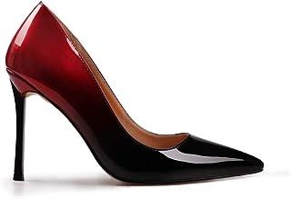 wetkiss 加大码时尚女式及踝短靴蛇纹印花性感靴冬季厚高跟女鞋