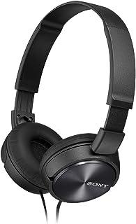 Sony 索尼 MDRZX310折叠式耳机-金属黑色