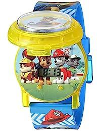 Nickelodeon 兒童 PAW4032 數字顯示屏 石英多色手表