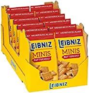 Leibniz 迷你脆餅餅干 散裝迷你餅干 餅干套裝,帶黃油餅干,裝在12個餅干袋中,12包裝(12x 150g)