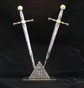 Knights Templar 共济会开信器剑套装