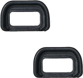 2 件装,FDA-EP-17 眼球目镜取景器眼杯替换 ABS EP-17 兼容索尼 A6500
