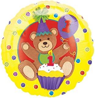 18 英寸 1 岁生日小熊 Vlp