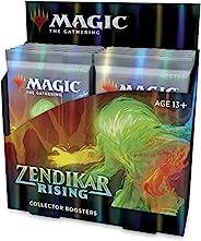 Magic The Gathering Zendikar Rising 收藏加速包 (12 包),2个盒盖
