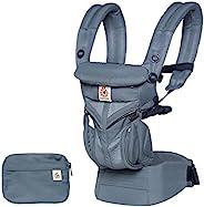 Ergobaby Omni 360 Cool Air Mesh 人体工学4种位置婴儿背带(深蓝色)