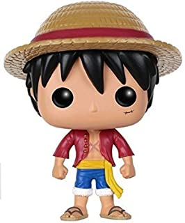 POP Anime:One Piece Luffy 可动公仔 3.75 inches 多色