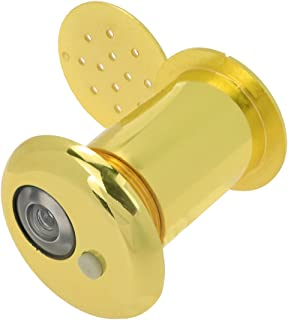 Autoly 锌合金门观赏者窥视器带盖*窥视孔适用于家庭办公室酒店,适用于门厚 55 毫米至 100 毫米