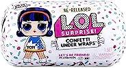 L.O.L 驚喜! Confetti 禮物驚喜 - 重新發布的玩偶有 15 個驚喜