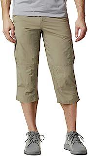 Columbia 银 Ridge II 七分裤女式七分裤裤子男式银色 Ridge II 七分裤