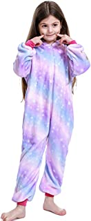 Kid Unicorn 连体衣睡衣圣诞节万圣节角色扮演服装男孩女孩礼物