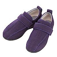 护理鞋 Wyumi 护理全III 外出用 紫色 LL 24.0-24.5cm 足围5E 双脚