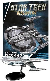 Eaglemoss 《星际迷航发现》官方星际飞船系列7:USA Buran NCC-1422船只复制品