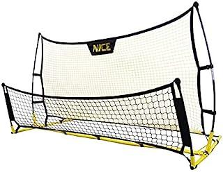 PROLEE 足球目标靶网 25 英尺 x 8 英尺,带 7 个得分区,足球目标训练辅助工具,彩色靶子,坚固耐用武术,持久耐用