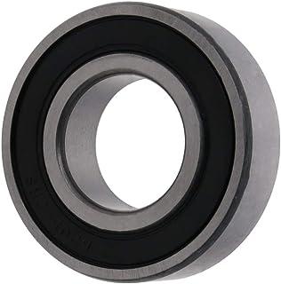 Bettomshin 6205RS 微型深沟球轴承滑板轴承单橡胶密封 25mm x 52mm x 15mm 适用于健身设备电气电机等 1 件