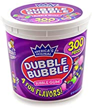 Dubble Bubble - 各种口味,可重复使用浴缸不含花生,不含麸质