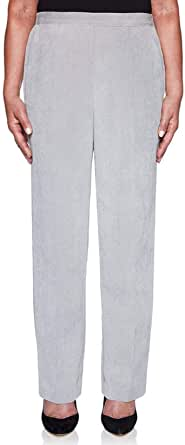 Alfred Dunner 女式 Lake Geneva 11 Wale 灯芯绒裤 - 短款
