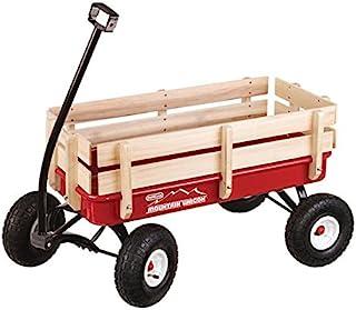 Duncan 玩具 山运推车 户外拉动 红色 41 x 22 x 38.5 英寸(约 104.1x 55.9x 97.8厘米)