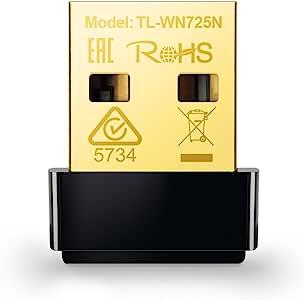 TP-LINK N 300无线迷你 USB 适配器适用于 Raspberry Pi (tl-wn823N) N150