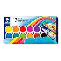 Staedtler 施德楼 12色盒装水彩888 NC12