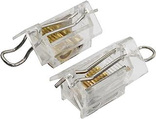 AXLIZER 2 件绳锁盲线锁和倾斜机械装置,适用于 25 毫米/1 英寸威尼斯百叶窗组件