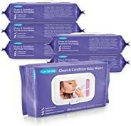 Lansinoh 洁净护理婴儿湿巾,温和清洁,保护性护理,低*性,不含*精,80 片装(480 片)