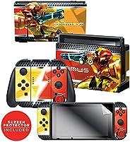 "Controller Gear 任天堂切换皮肤和屏幕保护膜套装 - Metroid - ""Samus Vs&quo"