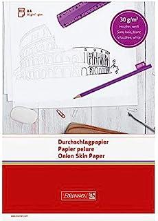 Brunnen 1032105 复写用薄纸(A4,30克 / 平方米,100张)白色
