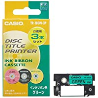 Casio 卡西歐 磁盤標題打印機 色帶 *