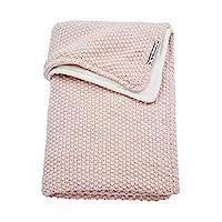 Meyco 2754083 婴儿被 冬季 浮雕混合 粗呢针织 100x150 厘米,粉色