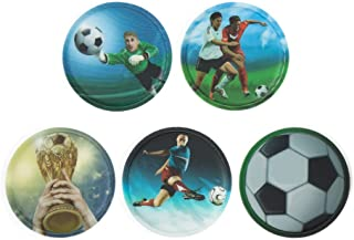 ergobag Klettie-Set Different Designs II 17.5 厘米 einheitsgröße Fußball (Green/Blue)