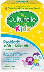 Culturelle 康萃乐 儿童益生菌&完整多种维生素咀嚼片   包含维生素C和锌 