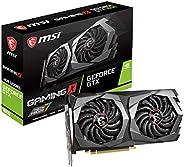 MSI Gaming GeForce GTX 1650 128 位 HDMI/DP 4GB GDRR5 HDCP 支持 DirectX 12 双风扇 VR Ready OC 显卡(GTX 1650 游戏X 4G)