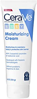 CeraVe 婴儿透明质酸温和保湿霜,不含防腐剂、邻苯二甲酸盐和香料,226g