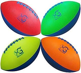 Macro Giant 9 英寸泡沫足球,4 件套,操场球,儿童运动玩具,各种颜色,儿童足球,后院,海滩,学校操场,儿童玩具,生日礼物